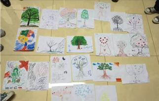 心理协会活动-生命树