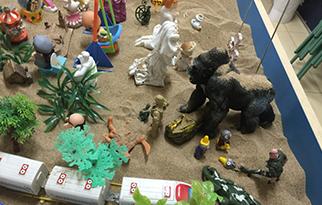 心理协会活动-沙游体验