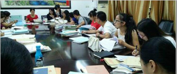 实外初中校区新学期第一次教研组(年级组)会议顺利进行