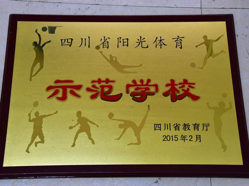 四川阳光体育示范学校