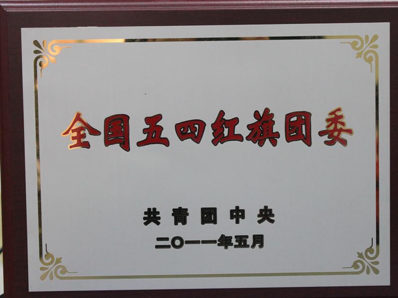 全国五四红旗团委