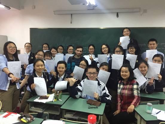 高一英法双语班法语DELF终生文凭考试喜报