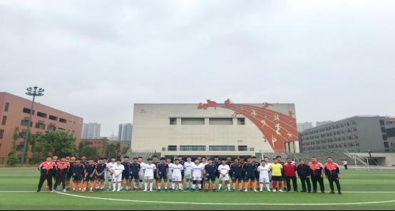 广州市体育运动学校足球队到我校交流指导
